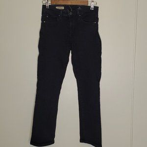 AG The Stacy Mid-Rise Straight Jeans 26R